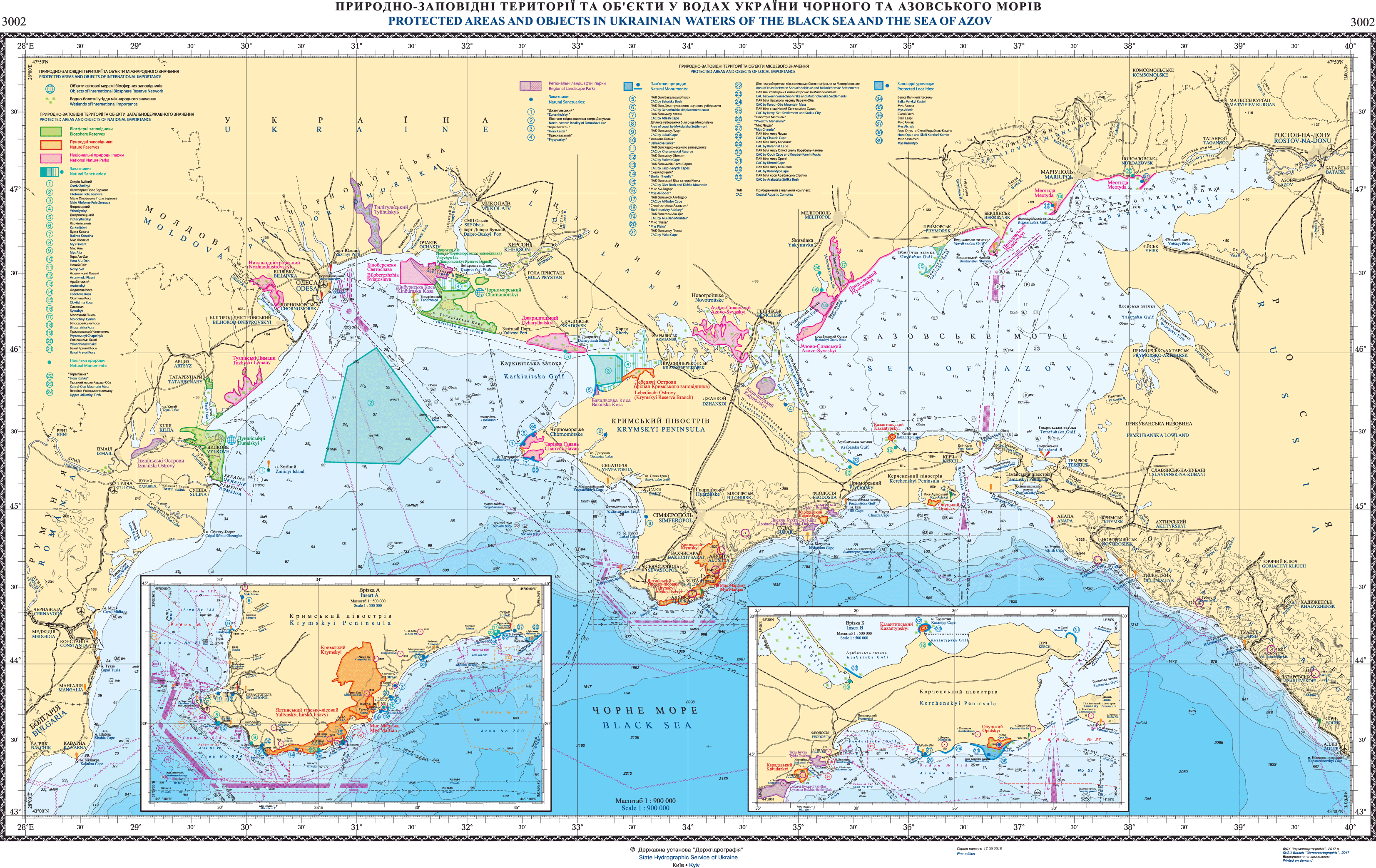 Nautical Free - Free nautical charts & publications: Ukraine